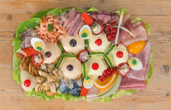 huzaren- zalm salade